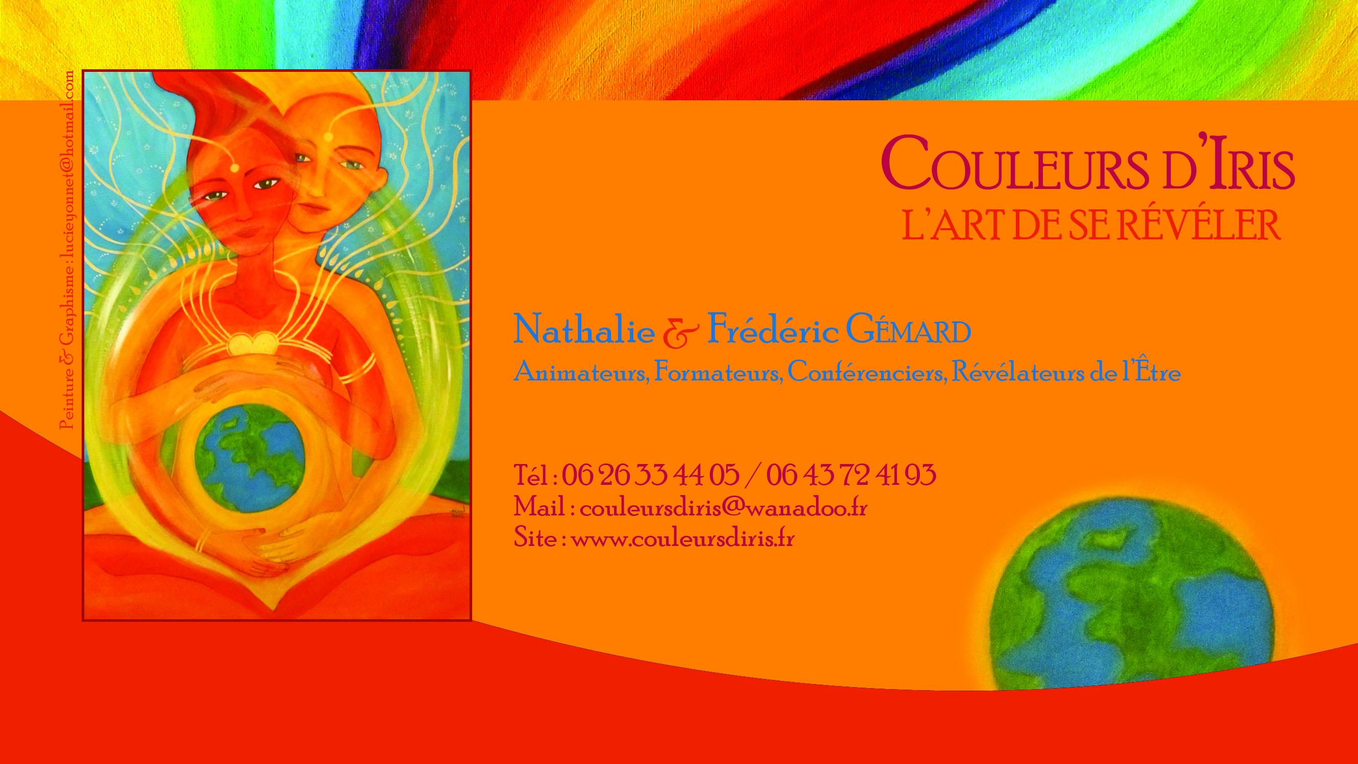 Couleurs Diris Nathalie Frederic Gemard Salon Santé Nature