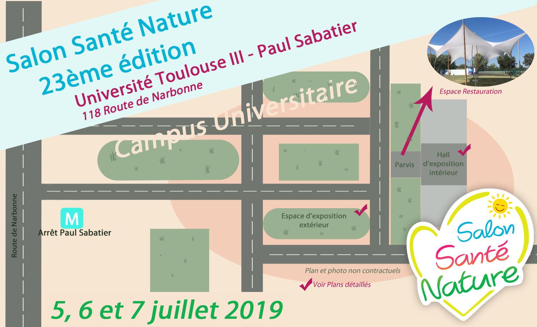 Calendrier Universitaire Paul Sabatier 2019 2020.Salon Sante Nature Toulouse